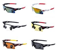Wholesale polarized sunglasses Cycling Glasses Outdoor Sport Parkour Trend Mirrors Riding Eyewear protecting your eyes Colors Lens