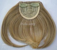Wholesale Hair bang clip in hair bang hair bang synthetic hair bang hair fringe color