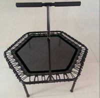 Wholesale Hexagon Bungee Trampoline Fitness trampoline