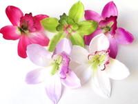Wedding artificial orchid flower - Huilan silk flower artificial flower orchid flower diy decoration flower cm