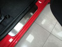 Cheap Door sill for HYUNDAI GETZ 5D 2002- 4 pcs set sill plates Free Shipping