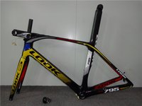 Wholesale carbon frame look795 Road Frame Fork Stem Seatpost headset BB30 or BSA BB68 XS S M L