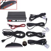 car parking sensor - Car LED Parking Sensor Assistance Reverse Backup Radar Detector Monitor System Sensors colors K369