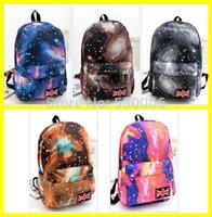 backpack uk sale - 5 Colors Hot Sales Galaxy Star UK Flag Design Unisex Canvas Backpack Fashion Women Men SchoolBag Travel Casual Bag