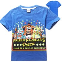 cotton night shirt - Five Nights at Freddy s FNaF clearance top quality new brand childen s tshirts cotton short sleeve baby boys tops cartoon t shirts