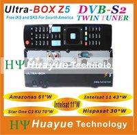 Wholesale New satellite receiver AZ Box bravissimo orignal TOCOMFREE S928S with IKS SKS free for Nagra3 work stable azamerica