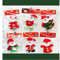 Wholesale Fashion Plastic Santa Claus Charm Widget For Christmas Gift Christmas Tree Ornament New Arrival