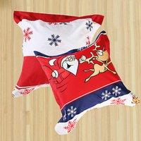 Cheap Wholesale-New Santa Claus Xmas Deer 100% Cotton Bedding Set Pillow Case Christmas Gift