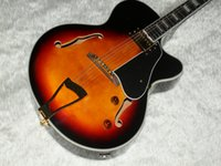 Wholesale Luxury jazz Semi Hollow guitar sunburst L5 electric guitar Musical Instruments