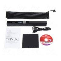 al por mayor portable scanner-Mano portable 900DPI iScan HD inalámbrico Held PDF Mini escáner A4 JPG