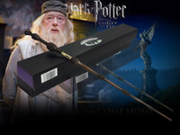 Wholesale retail Newest Harry Potter Dumbledore Wand Magical Stick Wand New In Box Cosplay