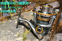 Wholesale DK11 Ball Bearings Left Right Interchangeable Collapsible Handle Fishing Spinning Reel LK1000 LK6000 Tackle Gear H9723