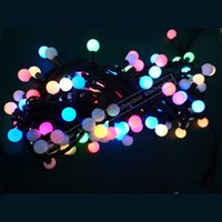 ac concerts - 2016 New M LEDs String Light V Colorful Ball Light Waterproof Lights Wedding Party Concert Decoration Lights Y