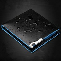acrylic panel price - Hot NEW brand designer men wallets Leather Wallet for mens Bifold clutch wallet dollar price purses carteira masculina W1