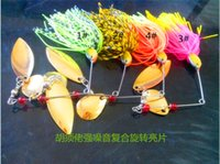 Wholesale Strong noise beard sequins Ray frog lures hard bait lures fishing tackle fishing supplies