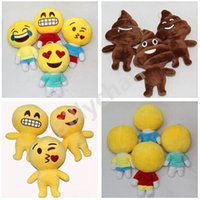 Wholesale Emoji Plush toys emoji doll Stuffed Plush Toy Emoji Smiley Pillows Cartoon Cushion QQ Expression Stuffed Plush doll Xmas gift D179