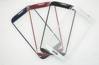 Wholesale 50PCS Touch Screen Front Outer Glass Lens for Samsung Galaxy S4 i337 i545 i9500 i9505 Glass Digitizer