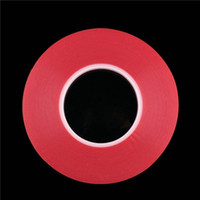 double sided adhesive tape - 1mm mm mm mm mm Transparent Clear Adhesive Transparent Double side Adhesive Tape Heat Resistant cellphone repair sticker red DY