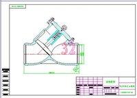 bell drawings - Pneumatic valve DN300 bell drawings Full Machining drawings