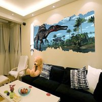 animal house wallpaper - Living Room Bedroo Cartoon D Dinosaur Wall Stickers Children Room Decoration Wallpapers Decals Eco friendly House Sticker A1E0E5