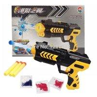 air gun games - New Cool Paintball Gun Pistol amp Soft Bullet Gun Plastic Toys CS Game Shooting Water Crystal Gun Nerf Air Soft Gun Airgun