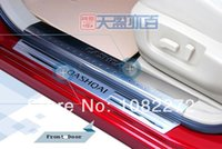 Wholesale 8 Door Sill Scuff Plate Trim For Nissan Qashqai Dualis Top Quality