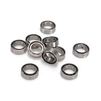Wholesale Hot Sale x Miniature Rubber Sealed Metal Shielded Metric Radial Ball Bearing Model MR85 ZZ x x mm