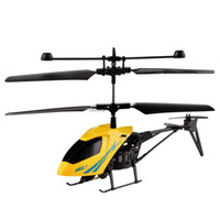 plastic model aircraft - New Channel Electric Micro Brushless Mini RC Helicopters Remote Control Aircraft Children Toys With Gyro