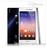 Huawei Ascend P7 5.0 Pulgadas 2GB+16GB 4G LTE Procesador de 1.8 GHz Quad-Core de 8.0 MP+13.0 MP Cámaras de 1920*1080 Blueteech 4.0 Teléfonos Inteligentes
