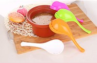 Wholesale Dual side drain household kitchen utensils spoon creative spoon tablespoon colander pot spoon Western spoon