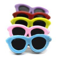 Wholesale Pet Sunglasses Shape Hair Pin Fashion Dog Glasses Hairpin Pet Hairpin Hair Accessories for Hairy Dog