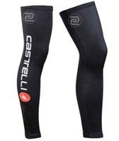 Wholesale Men Sports Cycling Leg Warmers Women Warm Cycling Leg Sleeves Bicycle Oversleeve UV Protection Bike Accessories Riding Team XXS XL