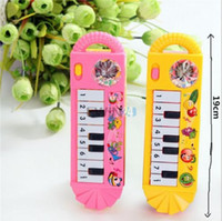 Wholesale Hot Selling Portable Music Piano Toy Musical Educational Toy For Infant Baby Kids Children