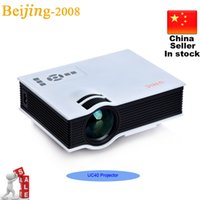 Wholesale 2015 Newest UC40 Original UNIC Projector Mini Portable Pico Proyector D Projector HDMI Home Theater Beamer Multimedia Video