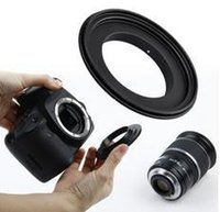 Wholesale New Macro Reverse Ring Adapter For EOS Mount Body to mm Lens for Canon EF EF S Lens