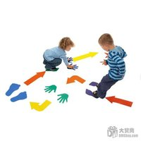 hand and foot - set EVA Hands Feet and Arrows Game Exercise the flexibility of the hands and feet