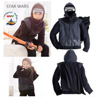 pc baby gifts jackets - Jacket Outwear Star Wars Costumes Winter Baby Boy Star Wars Jedi Knight Darth Vader Cape Coat Boys Jackets Hooded Coat Christmas Gifts