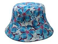 Wholesale Fisherman Hat Hot new Floral Script FISHER CAPclassic Bucket Hats designer flower Kangol galaxy camo money sports caps mix order photo album