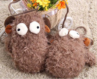 Wholesale New Plush Animal Big eye Sheep Gloves Children Cute Winter Warmer Mittens Gloves Plush Cartoon Cotton Gloves S0756