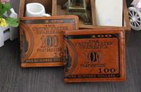 amazon interiors - 2015 New Classics Dollar Wallets For Men Hot Sale Short Design Men Purse Amazon Hot Mix Design