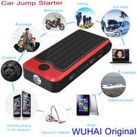 jump in - Multi Function Mini Portable Car Jump Starter mAh Start V Car Engine Emergency Battery Power Bank Fast Charge in Stock