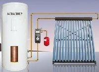 JJL divide calentador de agua colector solar sistema de calentamiento solar de agua caliente a presión para uso en el hogar, el tubo de tubo de calor sistema de energía solar