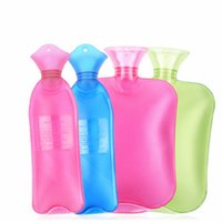 Wholesale Good Quality Winter Water filling Hot water Bag New Lovely Arrival Hot Water Bottle Rubber Solid Hand Warmers With Plastic ML