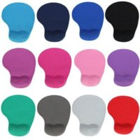 Wholesale Silicone Comfortable Wrist Pillow Mouse Mice Pad With Wrist Rest Support Sapphire mouse pad hello kitty
