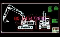 Wholesale 2320A ton excavator drawings Full Machining drawings ATUO CAD