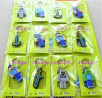 rubber keychain - 2015 new style Minecraft Enderman JJ coolie silicon Rubber Key Chains Minecraft Keychain pendant Novelty ltem Christmas Gift