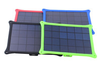 Cheap 4 Color 5W Solar Panel Portable Travel Outdoor Solar USB Battery Charger For Mobile Phone Tablet PC MP3 GPS