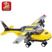aviation space - Genuine SLuban Building Blocks Of Space Shuttle Aviation Trainer Training Aircraft Planes Children