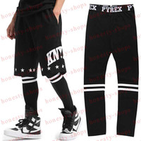 Wholesale Hot Sale European and American hip hop lovers GD Tide brand for men and women PYREX leggings hip hop pants