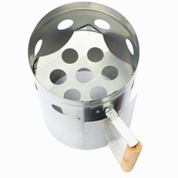 Wholesale New Iron Steel BBQ Grill Quickly Portable Barbecue Carbon Bucket Igniter Barrel Ignition Charcoal Garden Outdoor Picnic Tool